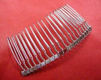 10pcs of 77x33 mm barrette hair comb-2274A
