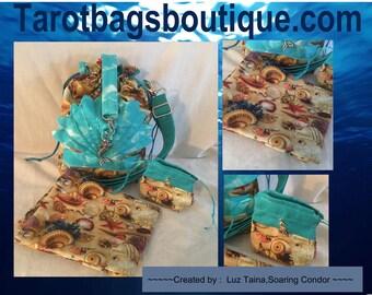 Tarot Bag set, Mermaid tarot bag set