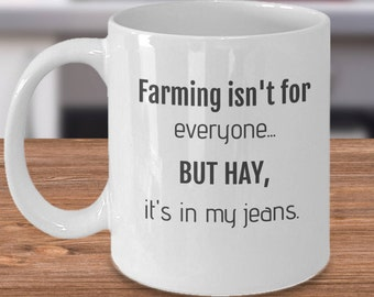Unique Farmer Gift, Funny Farmer Mug, Funny Gifts Farmers, Farmer Dad Gifts, Funny Farm Present, Gift for a Farmer, Farming Mug for Him