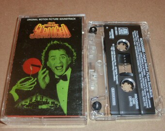 Scrooged CASSETTE TAPE Movie Soundtrack 1989