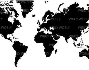 Acurate high res world map (files : .ai  .png  .svg  .eps)
