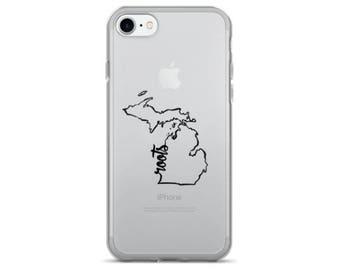 Michigan Roots - iPhone Case (iPhone 7/7 Plus, iPhone 8/8 Plus, iPhone X)