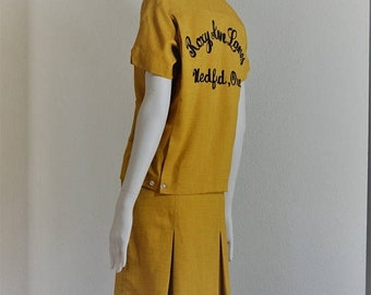 SALE33 Ladies Vintage Bowling outfit