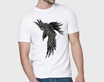 Odins Raven Tee Huginn and Muninn