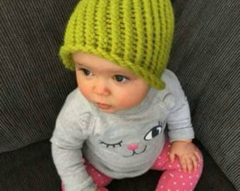 Baby and adult winter hat kit