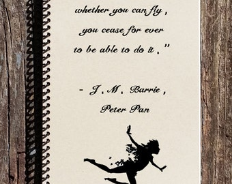 Peter Pan Notebook - Peter Pan Journal
