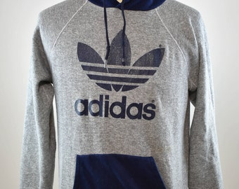 Vintage Adidas Two-Tone Sweatshirt Large Made in USA