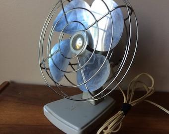 Sears Kenmore Vintage Electric Fan Mid Century Fan Working Condition