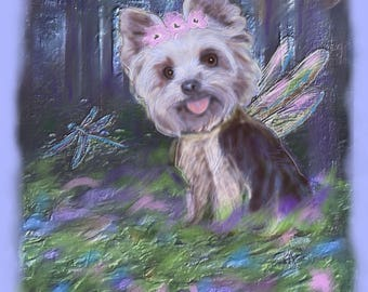 Custom Pet Fantasy Portrait