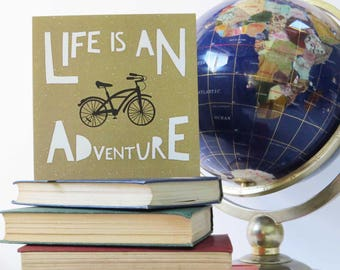 MB01 | Life is An Adventure card