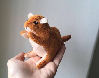 Christmas Gift Ideas - Free Shipping - Little Chipmunk stuffed toy - stuffed animals - plush toys - plushies