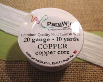Copper 20 Gauge Wire from ParaWire - 10 Yard Spool