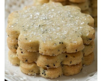 London Fog Vanilla Bean Shortbread Cookies
