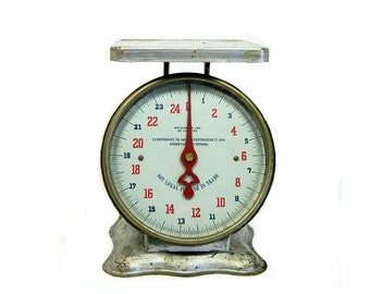 Chippy Antique Kitchen Scale 1913 Patent