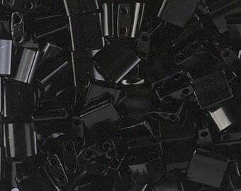 Tilas - Miyuki - Black - Tila Beads - TL401