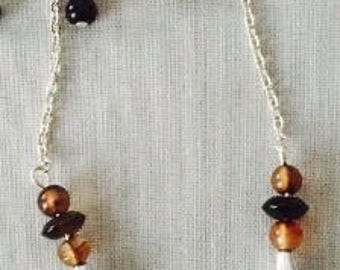 Dangle earrings costume jewelry beads