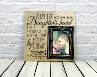 daughter to father gift, Gift from Daughter, father of the bride gift,fathers day gift, gift for dad, fathers day poem, gifts for him 2018