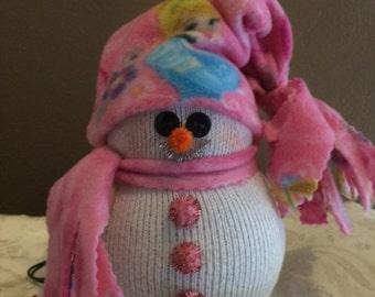Lighted Snowman Cinderella