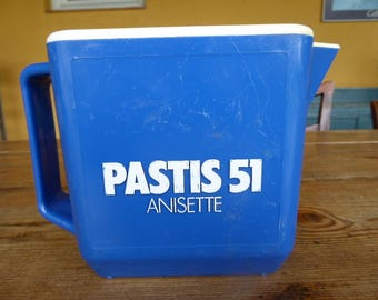Plastic Pastis 51 Water Jug, Iconic Pastis Barware, Vintage French Water Jug. 0917002-249