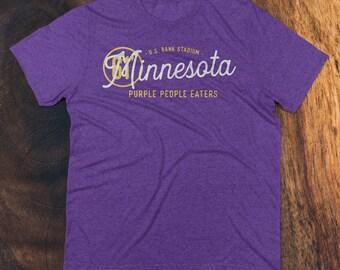 Minnesota Vikings Football Fan high quality Tri-blend T-Shirt