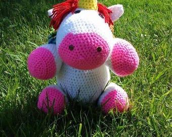 Crochet Plush Unicorn
