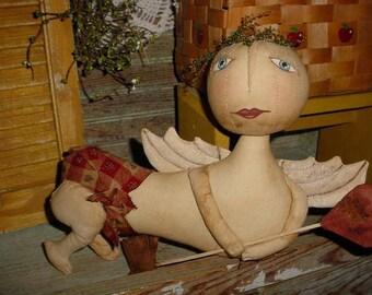Primitive Cupid Valentine Doll PATTERN