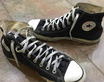 Converse all stars black high tops size 11/13 chuck taylor