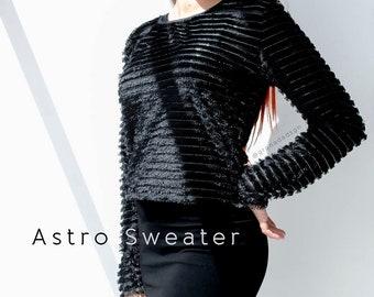 Faux Fur Sweater | Fuzzy Sweater | Basic sweater