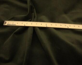 Deep Forest  Upholstery Plush Velvet 100% polyester per yard