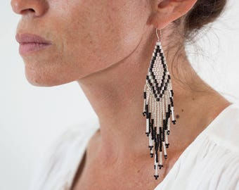 Indian beads earring