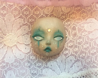 Mermaid Sea Witch Babyface Brooch