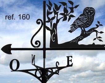 OWL rooftop weathervane