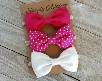 Baby bows, hair bands, hair clips, head band, hair bows