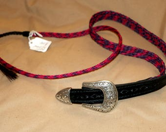 Child's Braided Horsehair belt and hat band