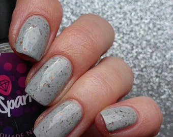 Grool! ~ Queenbees & Wannabees collectie Ultra Chome Chameleon UCC Flakies grijs Crelly 10ML