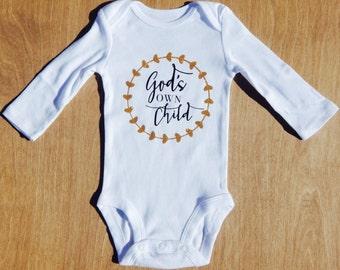 God's Own Child Onesie