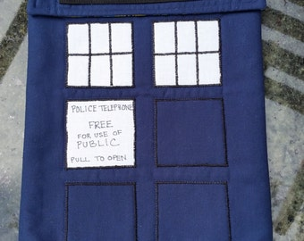 TARDIS Tablet Keeper/Sleeve/Cover