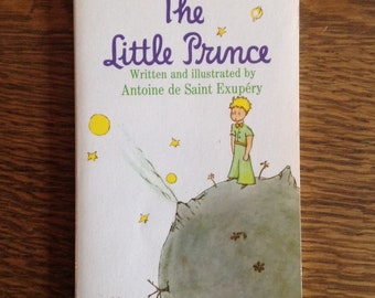The Little Prince by Antoine de Saint Exupery, Vintage Book, Children's Book, Paperback Book, Classic Book, Collectible, 1971
