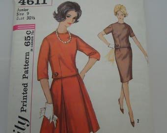 Simplicity 4611 Sewing Pattern Vintage