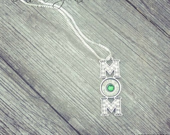 Mom Necklace w 18 inch chain