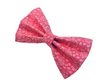 Dog Bow Tie - Pretty In Pink