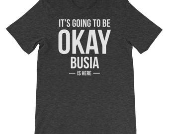 It's Going to Be Okay Busia is Here Shirt, Gift for Polish Grandma, Love Poland and Love Busia Shirt, Gift for Her, Mother's Day Gift