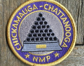 LAST ONE! Chickamauga-Chattanooga National Military Park Vintage Souvenir Travel Patch