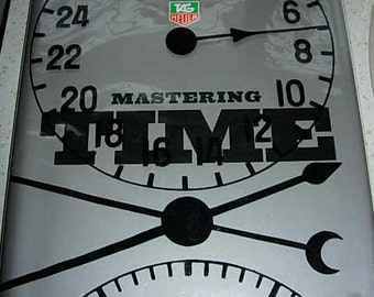 1st edition tag heuer mastering time book