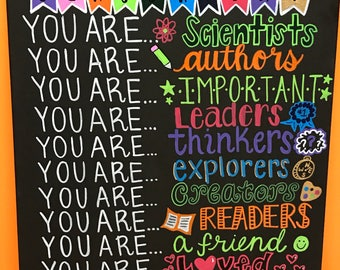 When you enter this classroom canvas; classroom rules; teachers gift