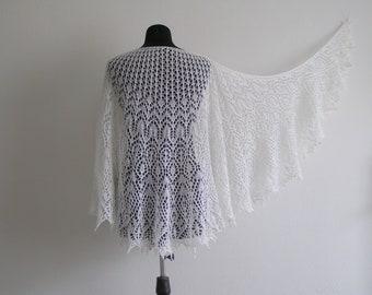 wool shawl, Knit Shawl, headscarf, lace shawl, evening wraps, mohair shawl, gift for her, Wedding shawl, knit shawl, Wrap, knit scarf