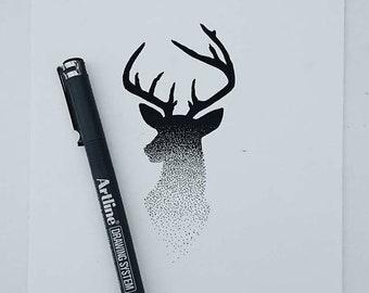 Deer Stippling