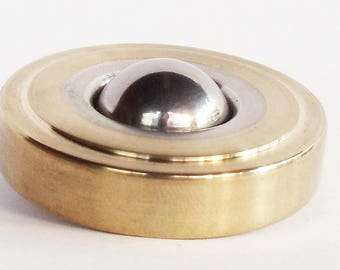 Brass/Aluminum Top, Metal Spinning Top, Spinning Top, Precision Spinning Top