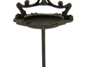 Cast Iron Standing Clawfoot Ashtray Heirloom Quality!