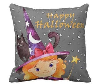 Halloween pillow, Halloween Personalised, Gift, Halloween Home decor, Halloween party decor, Halloween party, Halloween home accessories